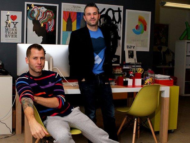 Fab.com founders Bradford Shan Shellhammer en Jason Goldberg
