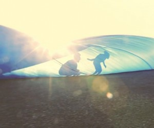 Tarp-Surfing