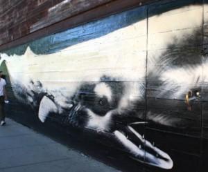 walvis-graffiti