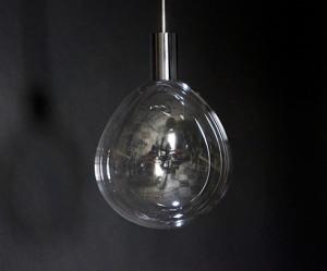 Bijzondere bellenblaas lamp