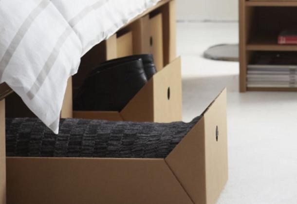 Bed Van Karton : Bed van karton eyespired