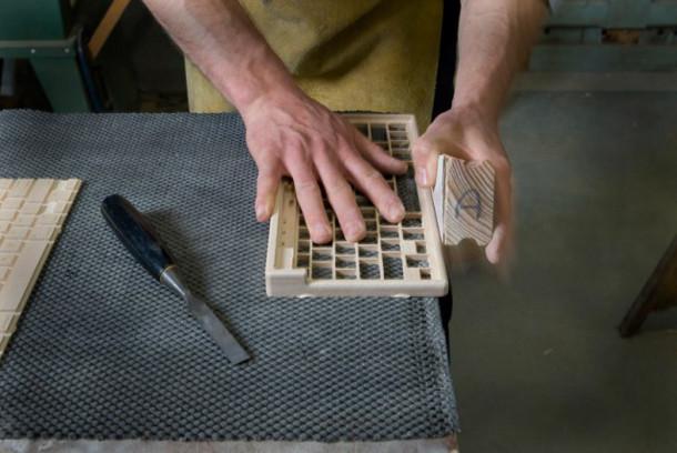 Handgemaakt houten toetsenbord eyespired - Wekelijkse hout ...