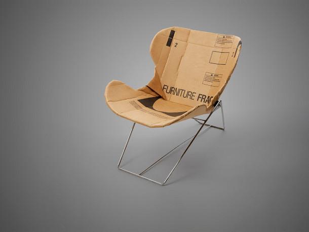 Re play kartonnen fauteuil eyespired for Karton design