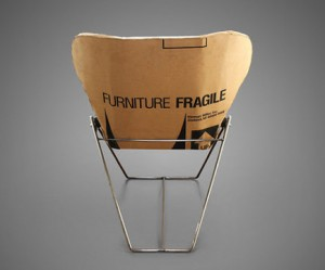 karton-design-fauteuil-minimalistisch