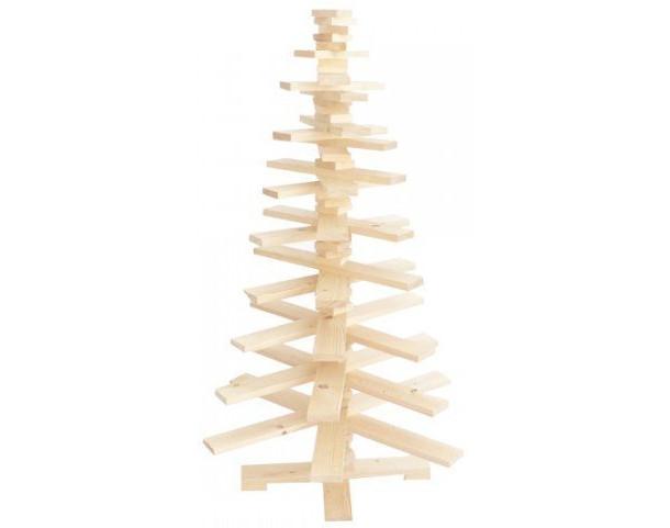 houten-kerstboom-vurenhout