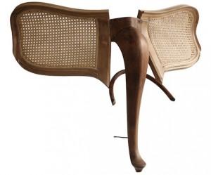 Houten dieren van oude stoelen