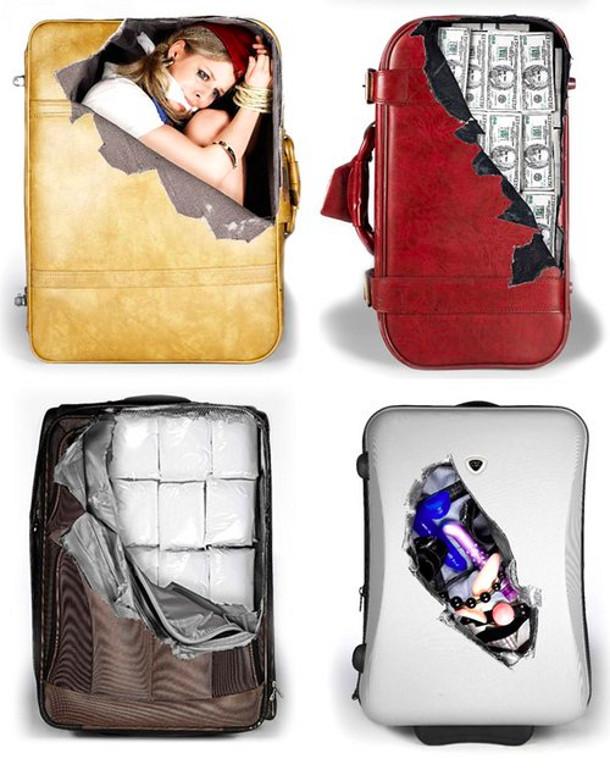 Sticker voor je koffer