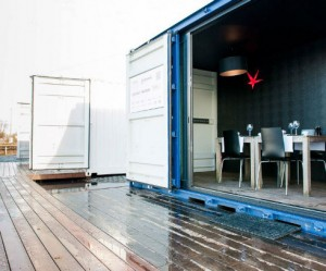 Pop-up hotel in Antwerpen