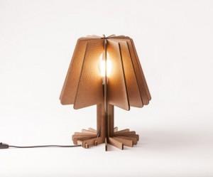 Kartonnen lamp uit Portugal