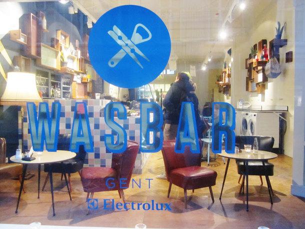 Wasbar in Gent