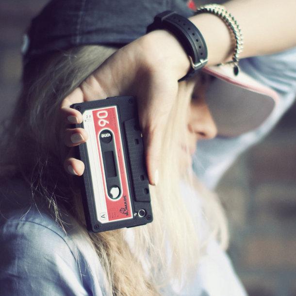 iPhone cassette hoesje
