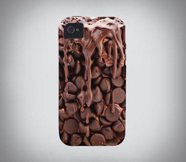 iPhone hoesje met chocola