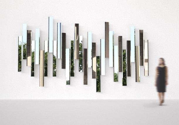 collage van spiegels eyespired. Black Bedroom Furniture Sets. Home Design Ideas