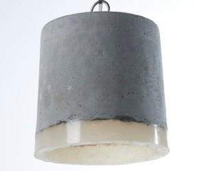 Design betonnen lamp