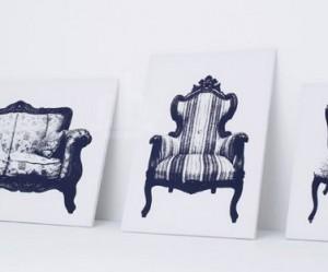Canvast stoelen van Studio YOY