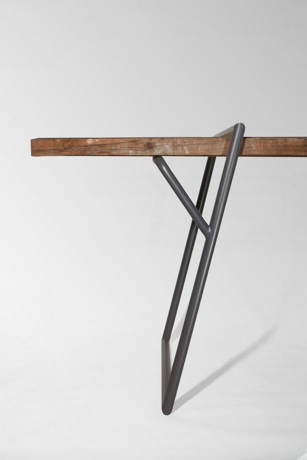 Frame voor jouw tafel eyespired for Houten eettafel design