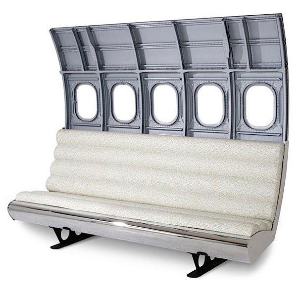 9 meubels gemaakt van oude vliegtuigen eyespired for Meubel sale