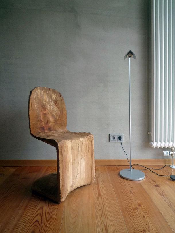 Houten verner panton stoel eyespired - Wekelijkse hout ...