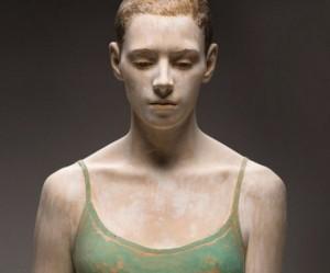 Houtsculpturen van Bruno Walpoth