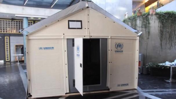 ikea tent voor vluchtelingen eyespired. Black Bedroom Furniture Sets. Home Design Ideas