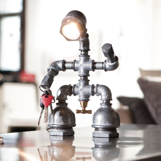 Geupcyclede industriële verlichting - EYEspired