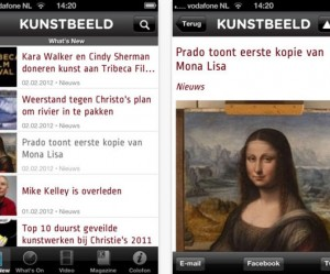 Kunstbeeld iPhone App