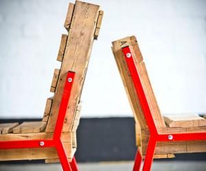 Pallet stoel van Rough South Home