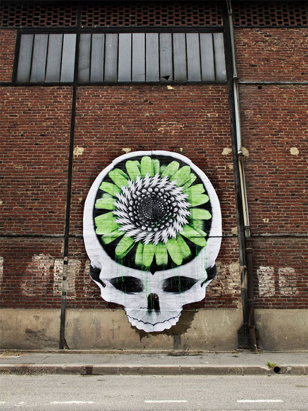 de franse street artist ludo is weer actief in paris eyespired. Black Bedroom Furniture Sets. Home Design Ideas