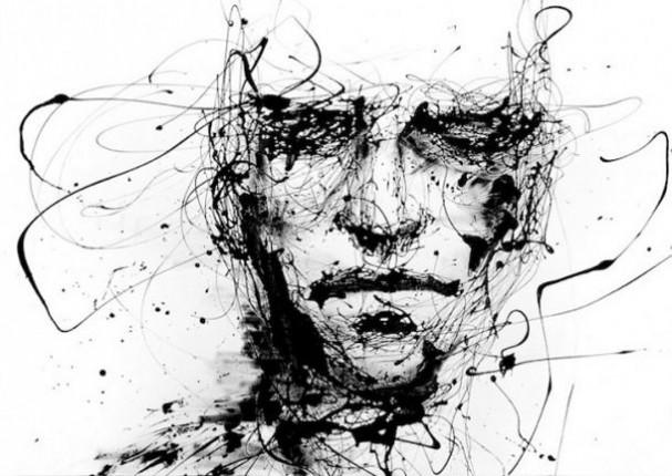 Zeer Druipende zwart-wit portretten - EYEspired &PE04