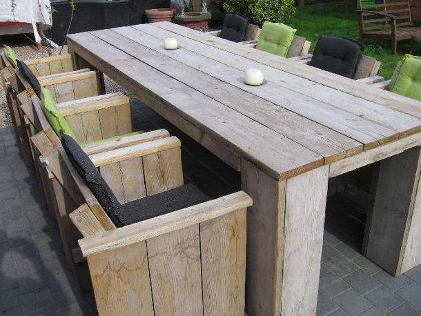 Meubels steigerhout maken