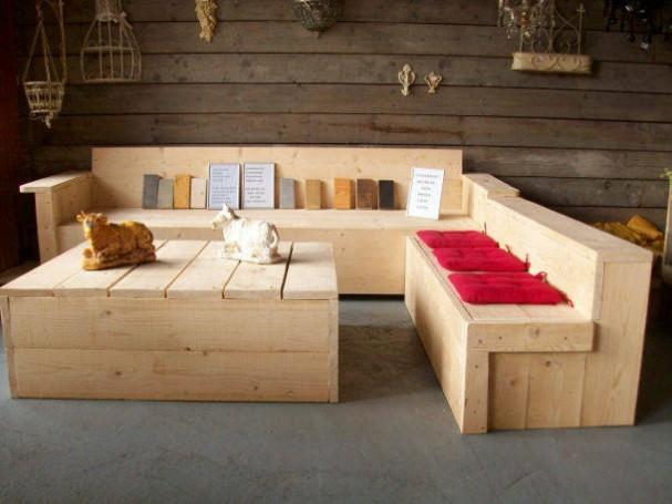 Ja ik wil zelf steigerhouten meubelen maken for Zelf meubels maken van hout