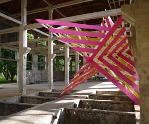 houten-driedimensionale-sterren