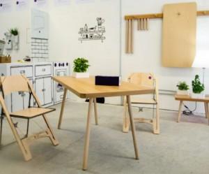 Opvouwbare meubels van Folditure