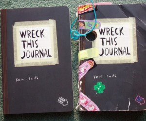 Wreck this journal van Keri Smith