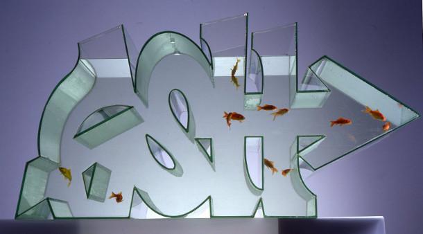 Fish tank van ZEUS aka Dean Colman