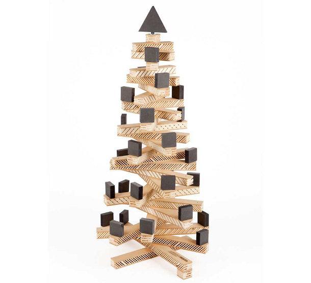 Kerstboom van resthout eyespired - Wekelijkse hout ...