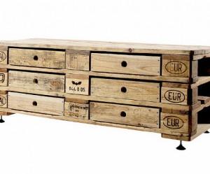 Overnachten in een steiger gemaakt van pallets eyespired - Foto houten pallet ...