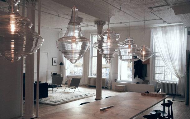 5 glazen hanglampen ge nspireerd door 5 klassieke
