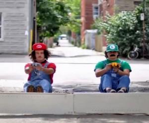 Stop motion of Mario Kart
