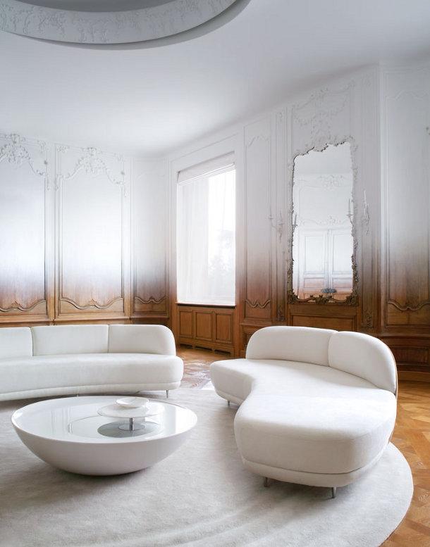Van Art Deco Appartement naar eigentijds Pied-à-terre - EYEspired