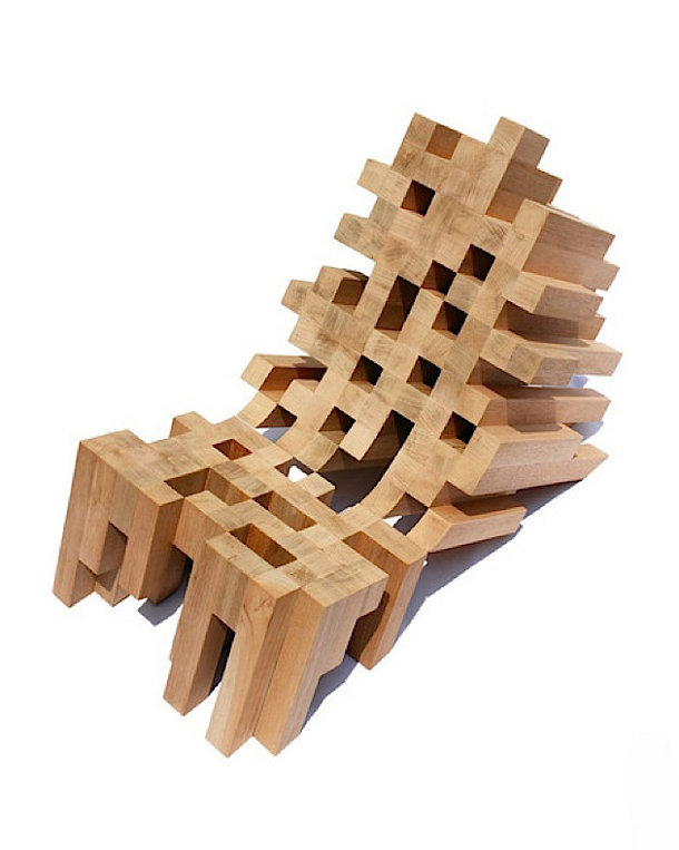 Mexicaanse butaque stoel met een twist eyespired - Wekelijkse hout ...