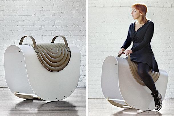 Design hobbelpaard voor volwassenen - EYEspired