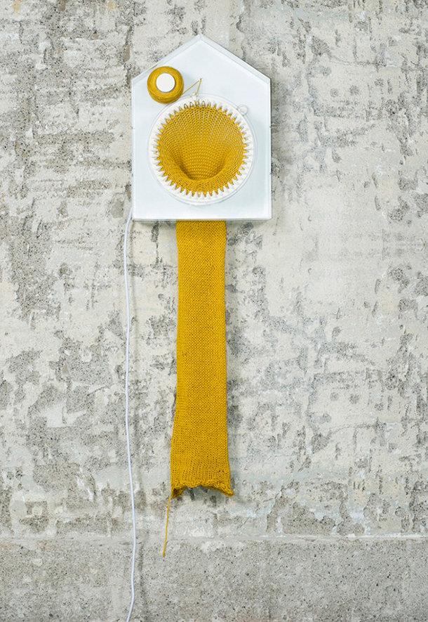 Klok breit een sjaal