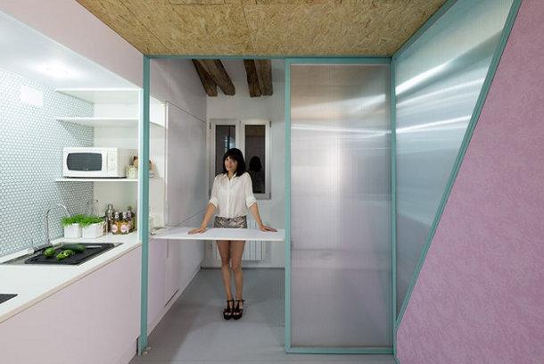 Zo richt je een klein appartement in eyespired - Layout klein appartement ...