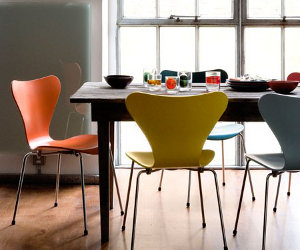 Arne Jacobsen Stoel : 3107 serie 7 stoel van arne jacobsen eyespired