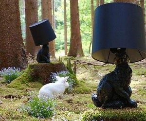 Rabbit Lamp van Front Design