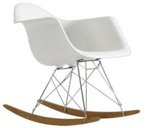 Eames Rar Schommelstoel Zwart.Schommelstoel Eames Replica