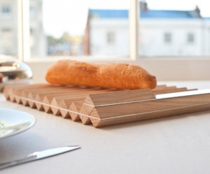 Minimale houten broodplank