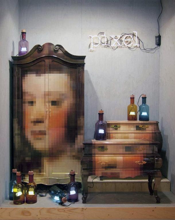 The Trip Pixel van Seletti