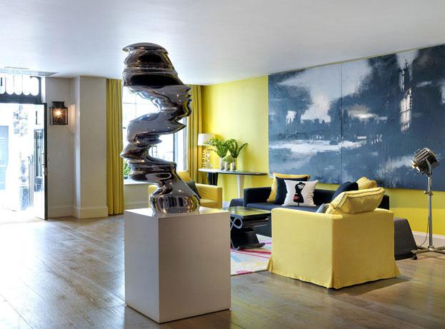 Design hotel in Londen Haymarket